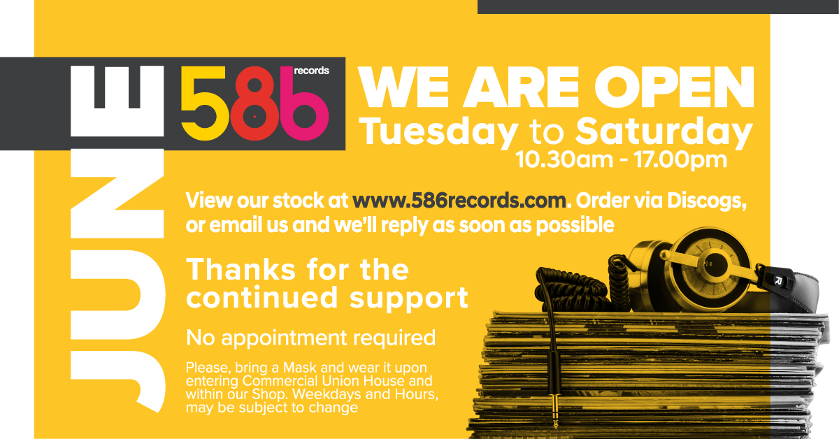 586 opening hours.